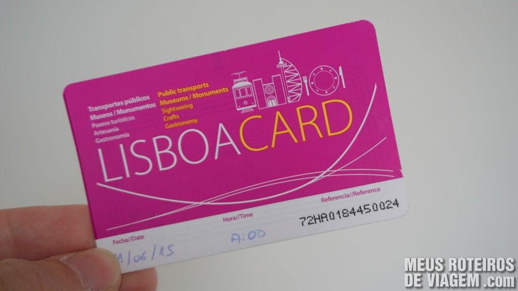 Cartão Lisboa Card