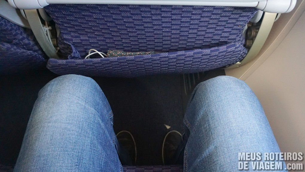 Espaço para as pernas na Copa Airlines