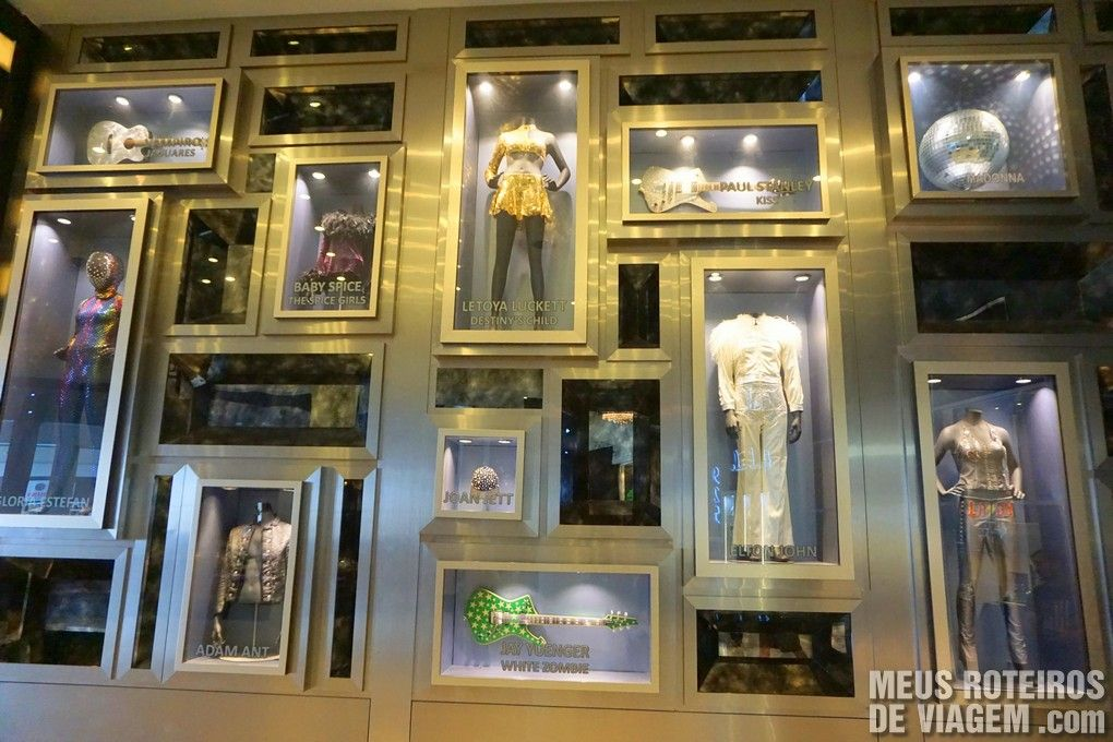 Memorabilia do Hard Rock Hotel & Casino Punta Cana