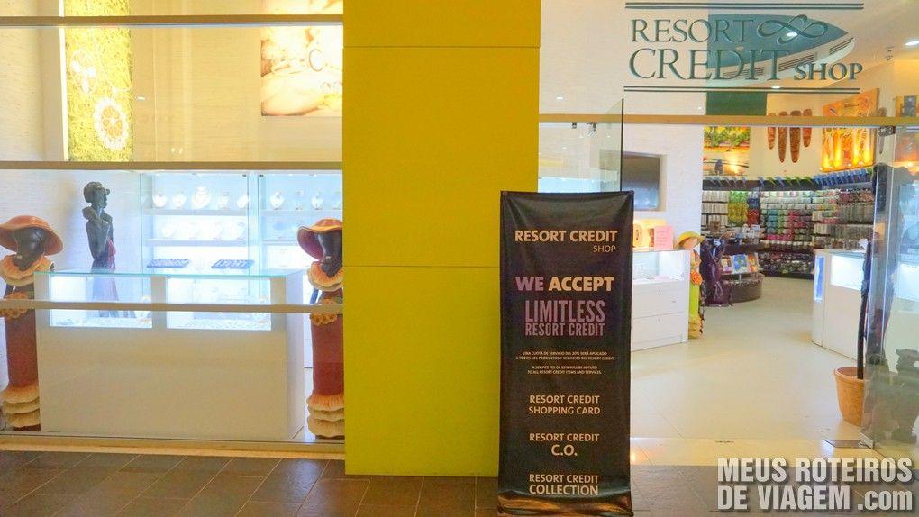Resort Credit Shop - Hard Rock Hotel & Casino Punta Cana