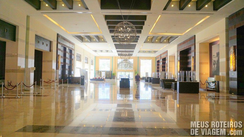 Lobby do Hard Rock Hotel & Casino Punta Cana