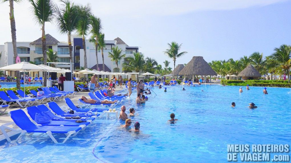 Piscina do Hard Rock Hotel & Casino Punta cana