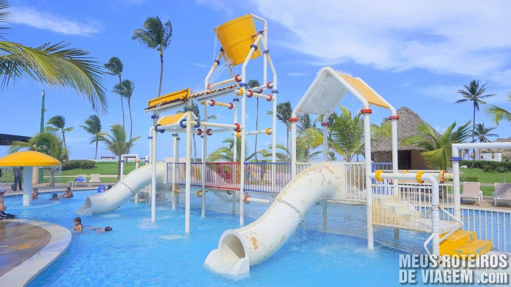 Piscina infantil do Hard Rock Hotel & Casino Punta Cana