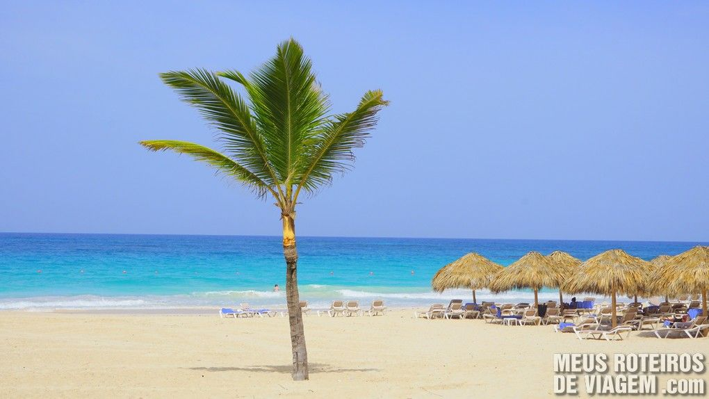 Praia do Hard Rock Hotel & Casino Punta Cana
