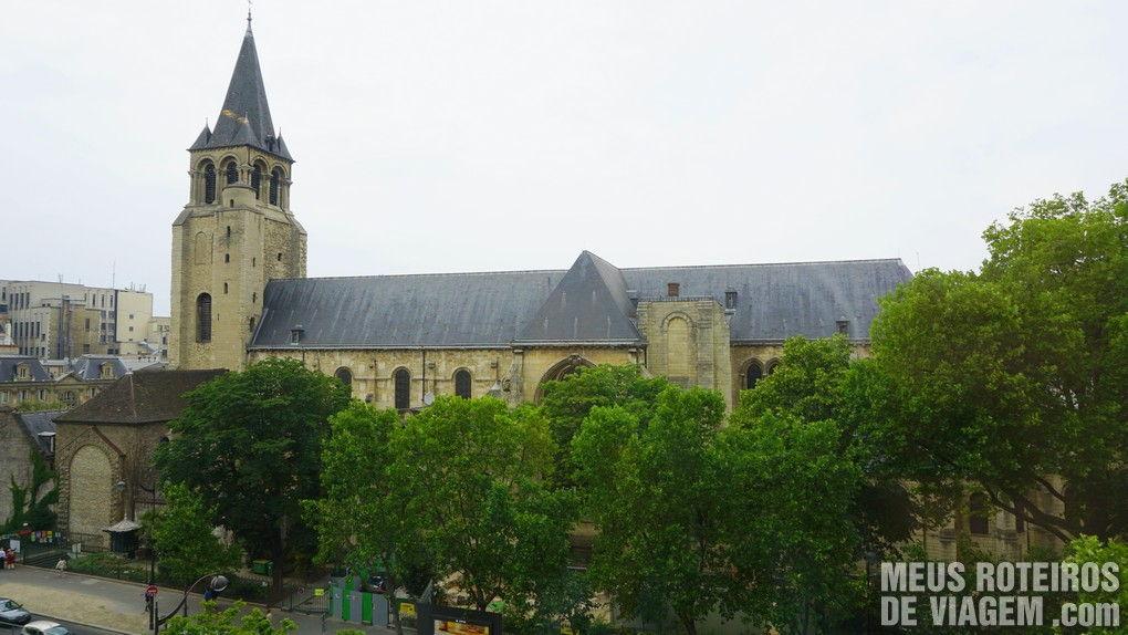 Vista para a Igreja de Saint-Germain-de-Prés - Hotel Madison, Paris