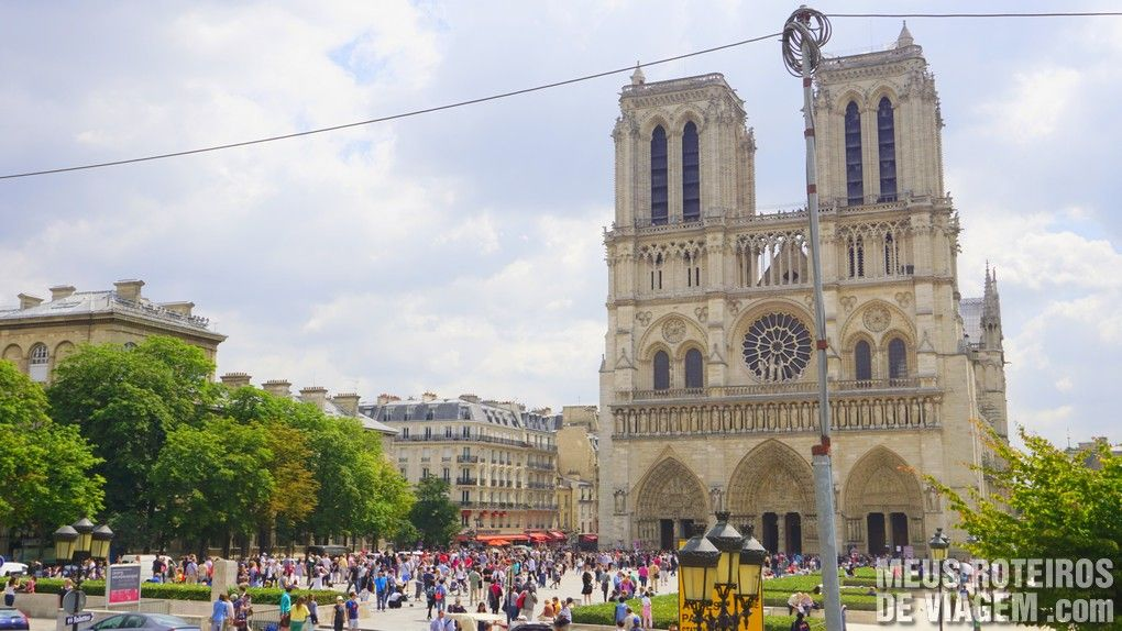 Catedral de Notre Dame - Paris, França