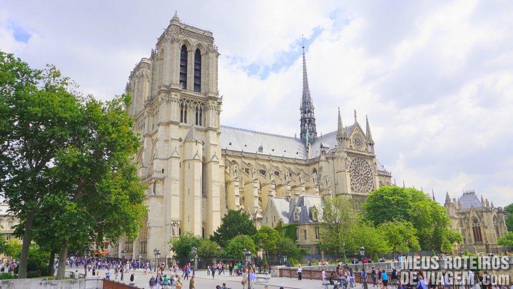 Catedral de Notre-Dame - Paris, França