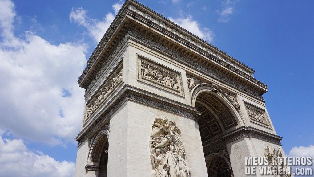 Arco do Triunfo - Paris, França