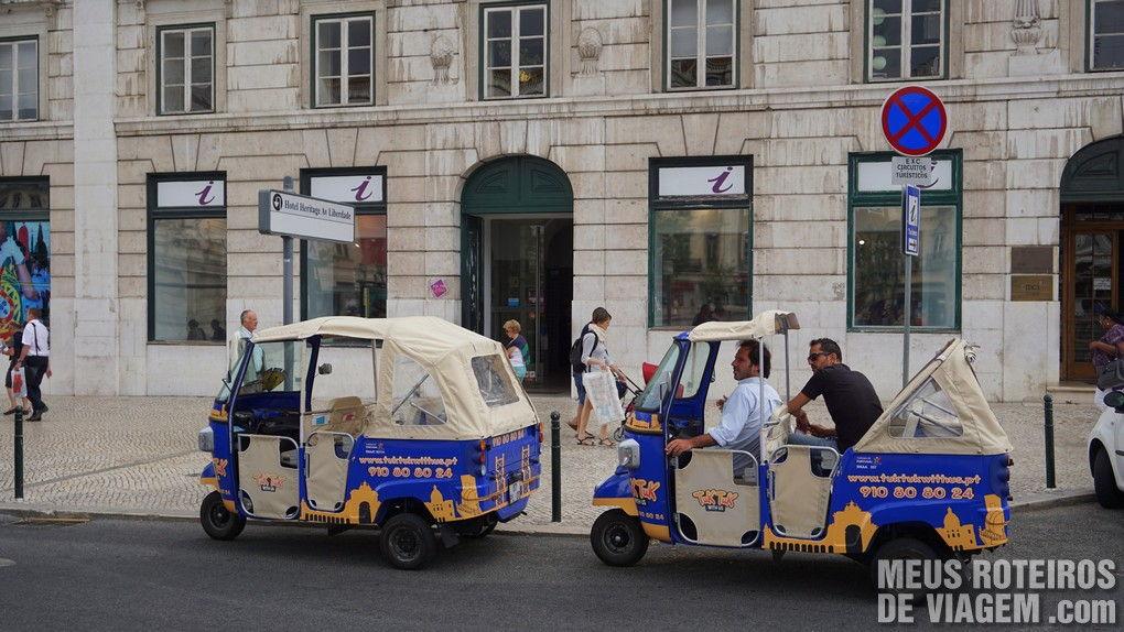 Tuk-tuk turístico - Lisboa, Portugal