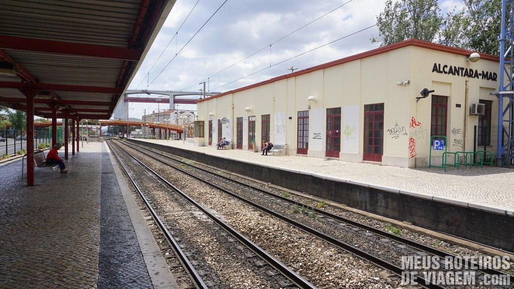 Estação Alcântara Mar - Lisboa, Portugal
