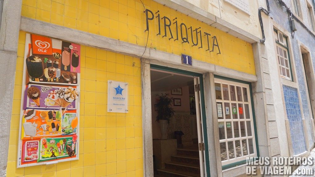Pastelaria Piriquita - Sintra, Portugal