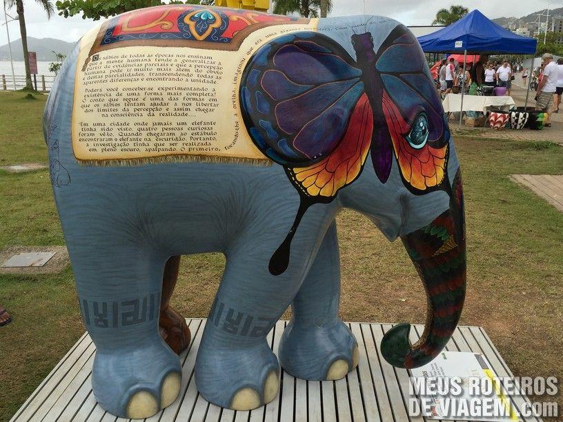 """Elefante """"Percepções"""""""