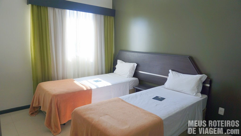 Suíte Luxo do Hotel Wyndham Golden Foz Suites - Foz do Iguaçú