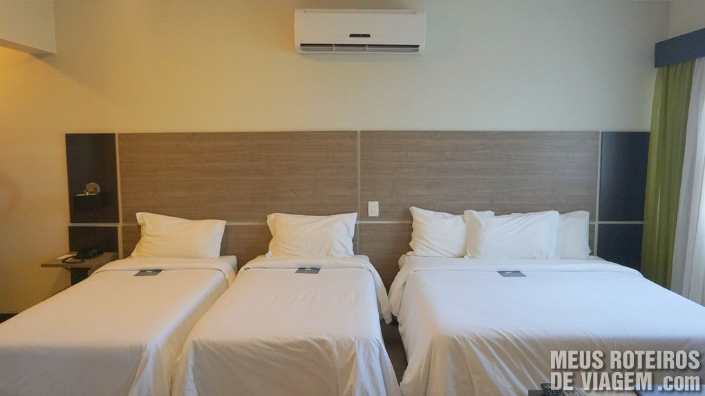 Suíte Premium do Hotel Wyndham Golden Foz Suites - Foz do Iguaçú