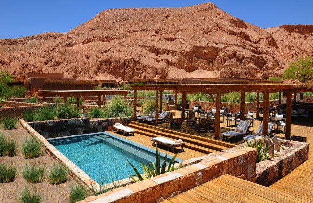 Piscina do hotel Alto Atacama (foto: AltoAtacama.com)