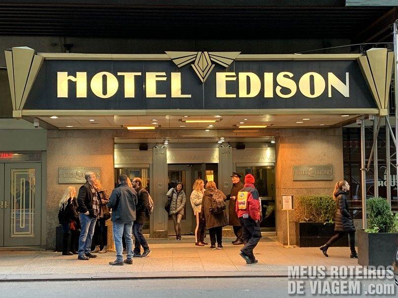 Entrada do Hotel Edison Times Square - Nova York