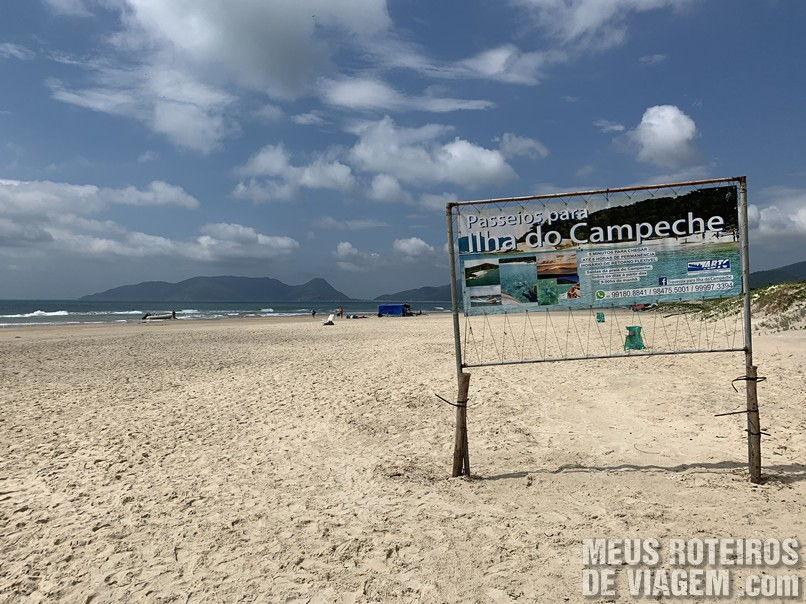 Praia do Campeche - Florianópolis