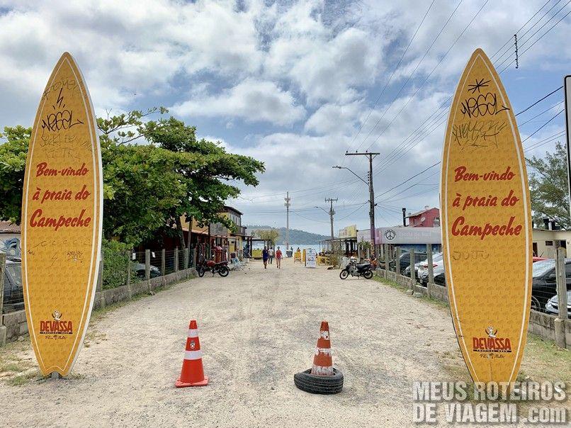 Praia do Campeche - Floripa