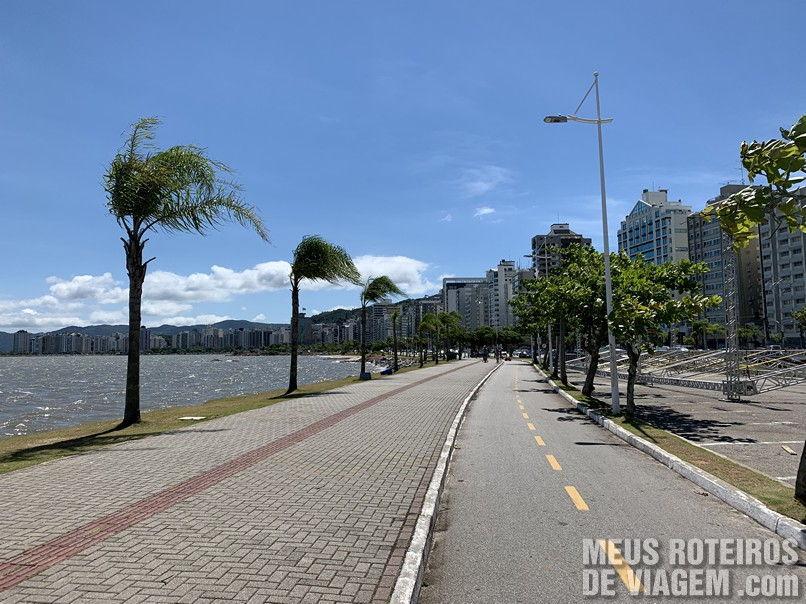 Ciclovia da Av. Beiramar Norte - Florianópolis
