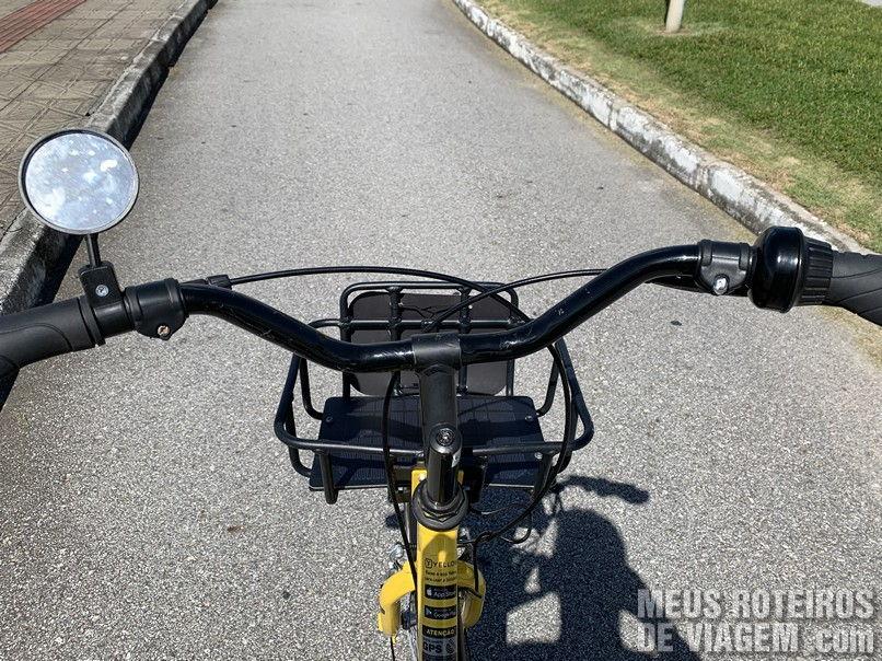 Guidão da Yellow Bike