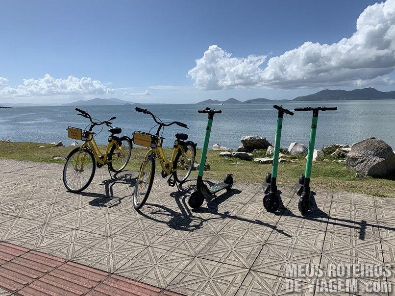 Yellow Bike em Florianópolis / SC