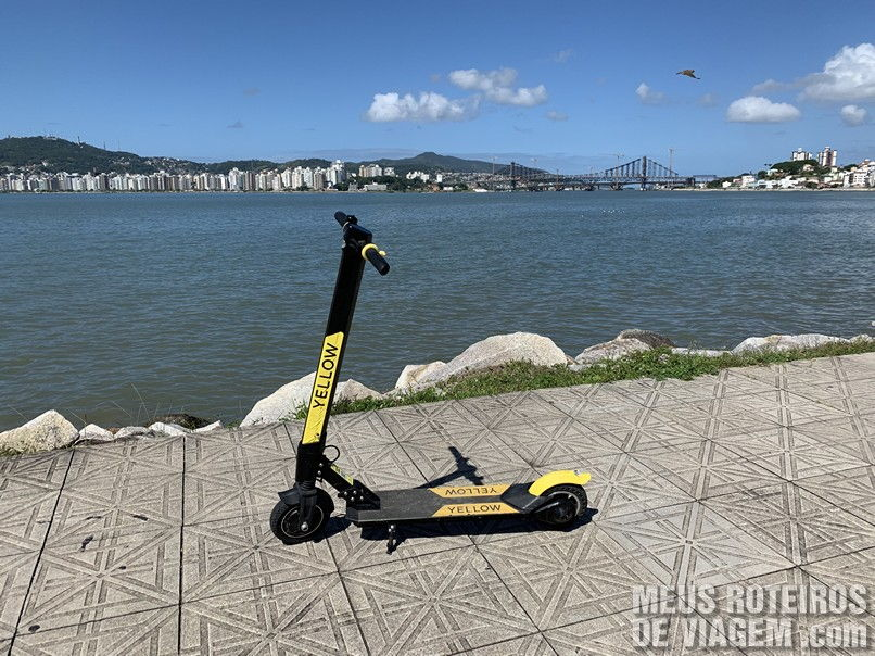 Patinete Yellow - Florianópolis, SC