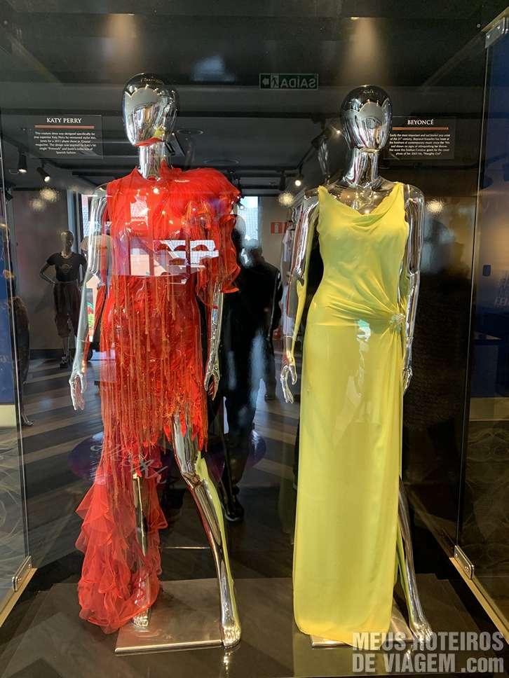Vestidos de Katy Perry e Beyoncé no Hard Rock Café Gramado