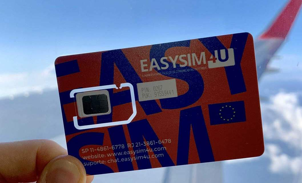 Chip de celular Internacional na Europa