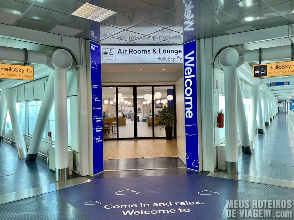 Hotel HelloSky no Aeroporto de Roma