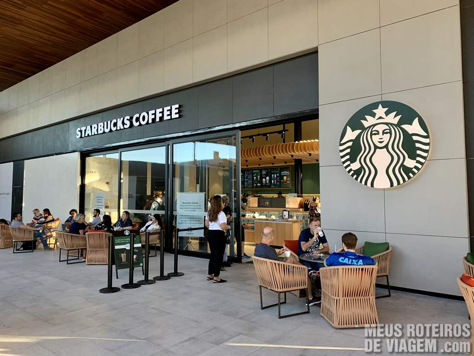Starbucks no Boulevard 14/32 do Floripa Airport