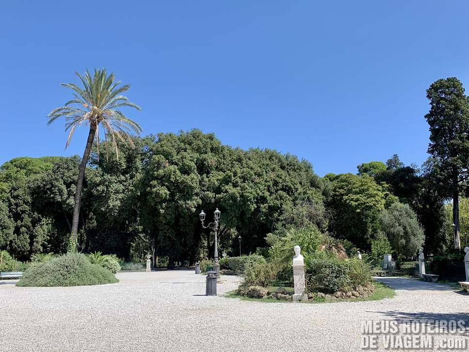 Parque Villa Borghese - Roma