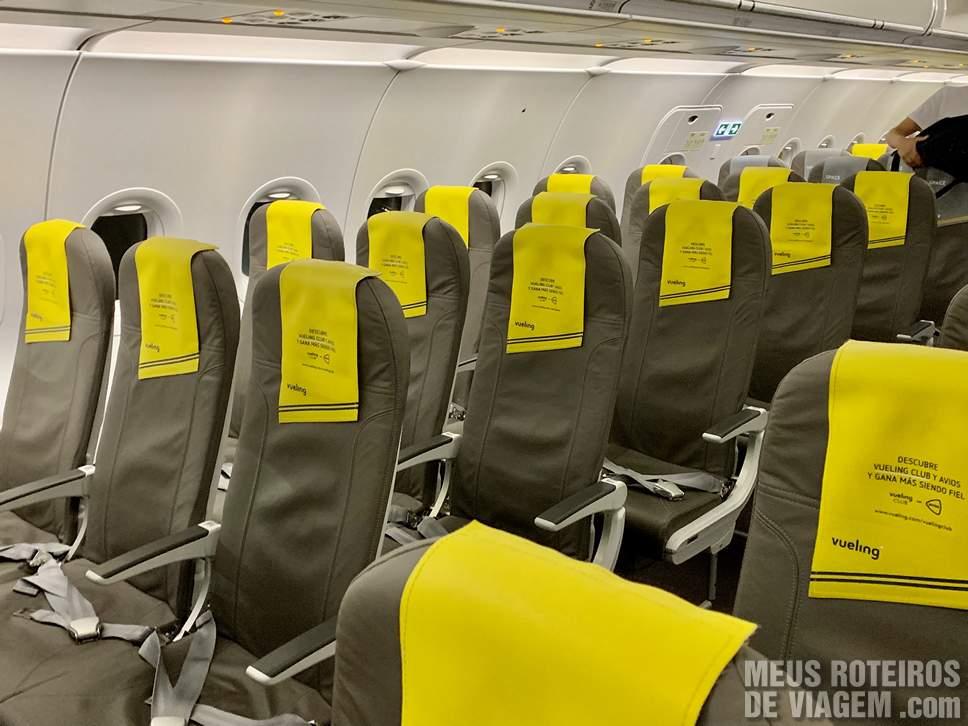 Assentos da Vueling Airlines