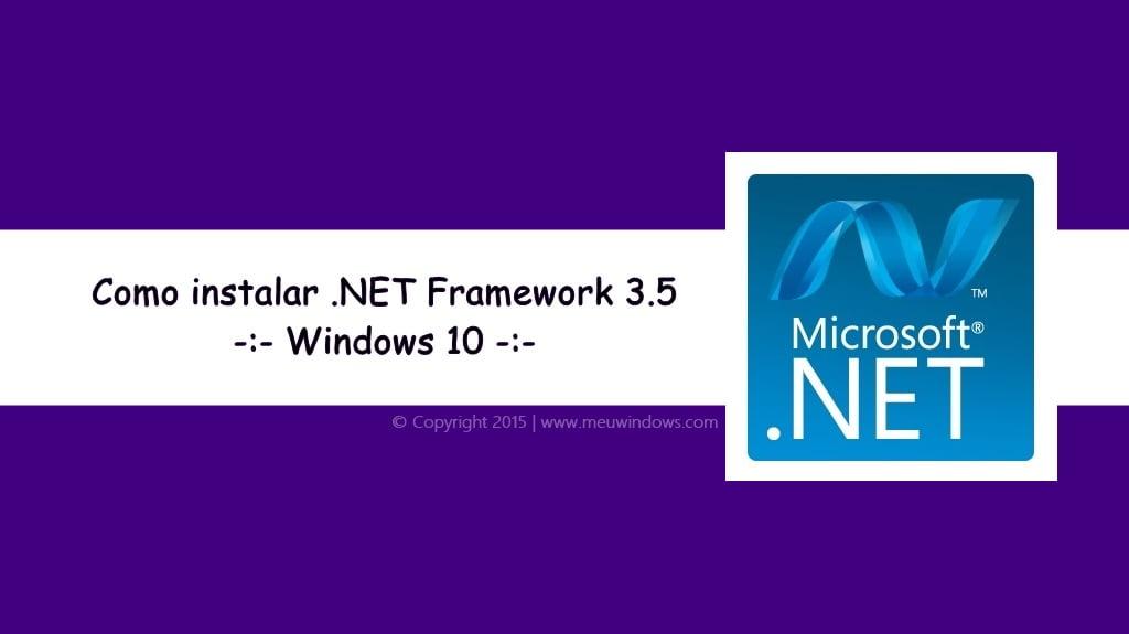 baixar net framework