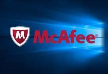 desinstalar o McAfee Antivírus