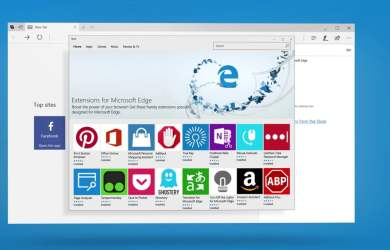 Microsoft Edge no Windows 10 Creators Update