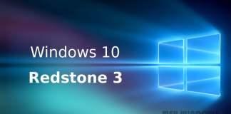 Windows 10 Redstone 3