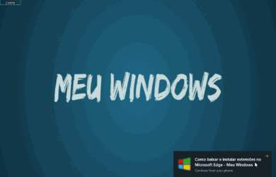 Continue no PC com o Microsoft Edge