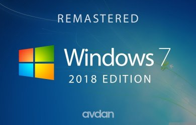 Windows 7 - 2018 Edition