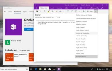 OneNote para Windows 10 é atualizado com o recurso ditado