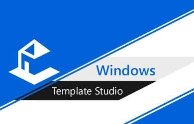 Windows Template Studio