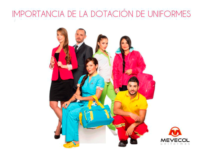 Importancia de la dotación de uniformes en sus empleados