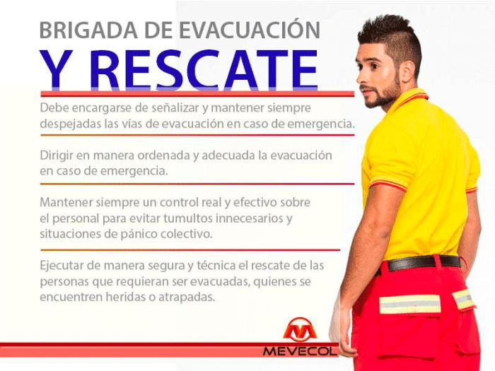 Brigada de evacuación y rescate