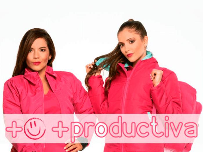 Mercaderista feliz, mercaderista productiva- Mevecol Uniformes Medellin