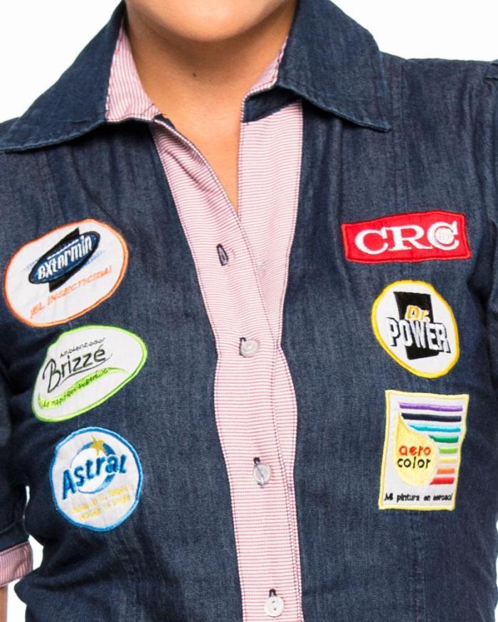 Uniformes empresariales para Mercaderistas M13 camisa