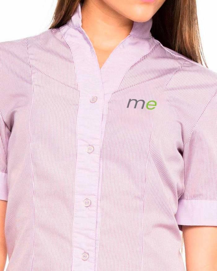 Uniformes empresariales para Mercaderistas M15 camisa