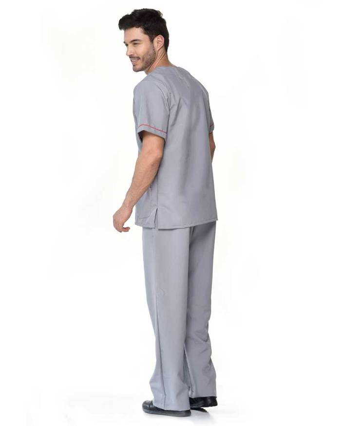 uniforme gris antifluidos de hombre s12-2