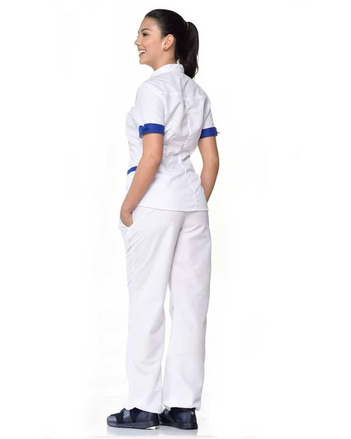 uniforme blanco dama antifluido s15-4