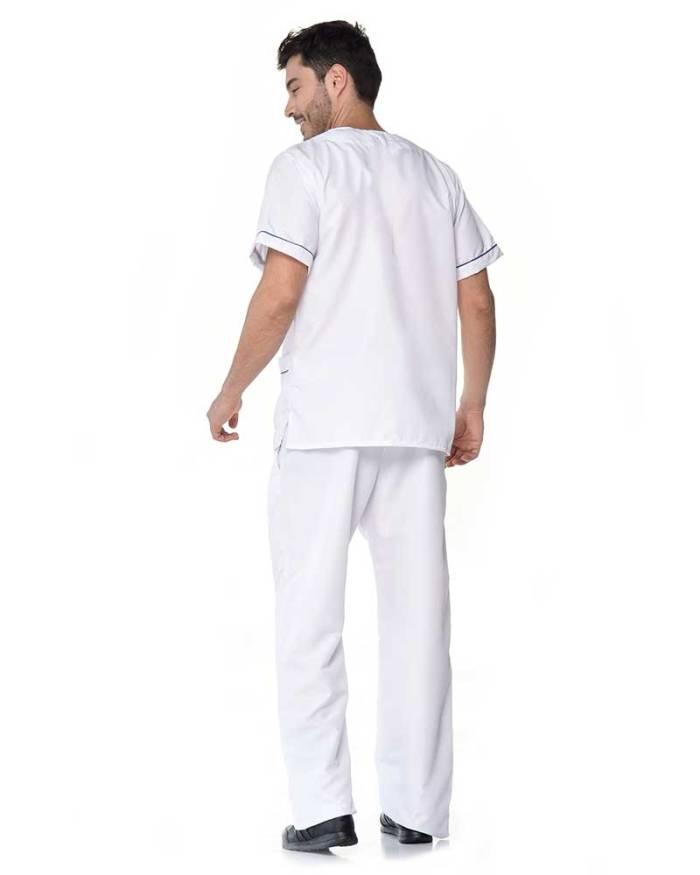 uniforme blanco de hombre antifluido s16-2