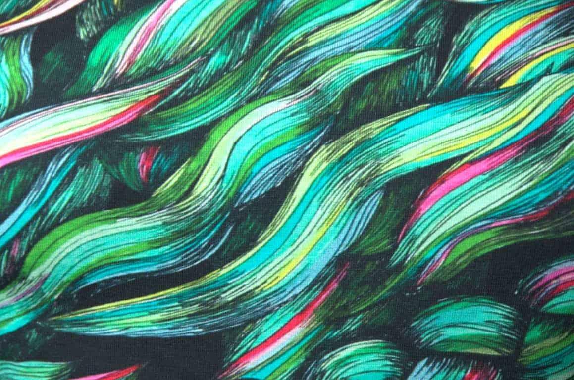hellin vlechten groen zwart bella sunshine maggi dress