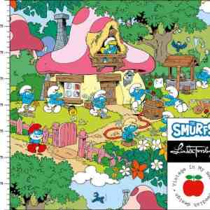 Vintage in my heart- Smurfettes Garden